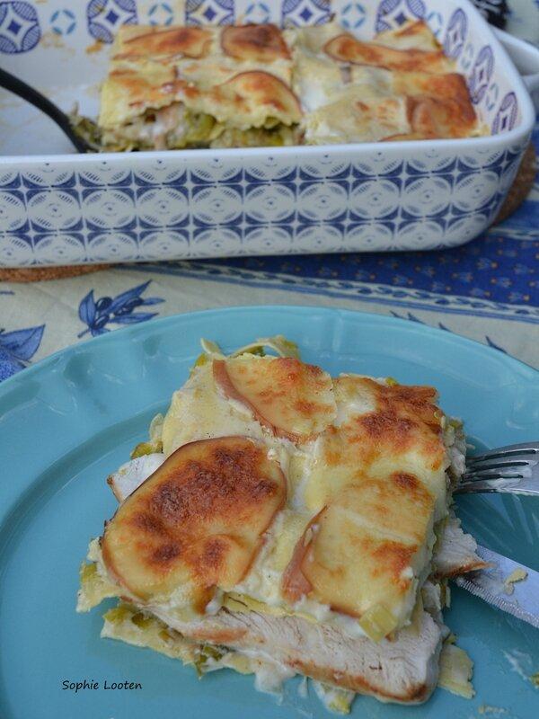 Lasagnes poireaux poulet2