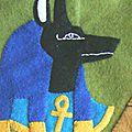 Quiet book page 11 : egypte (première partie) - egypt (first part)