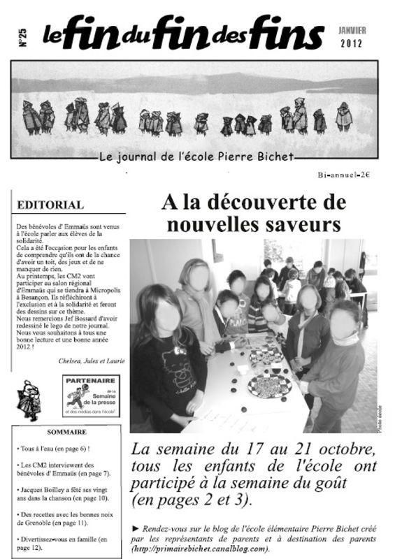 Le journal de l'école est disponible ! - Ecole Elémentaire ...