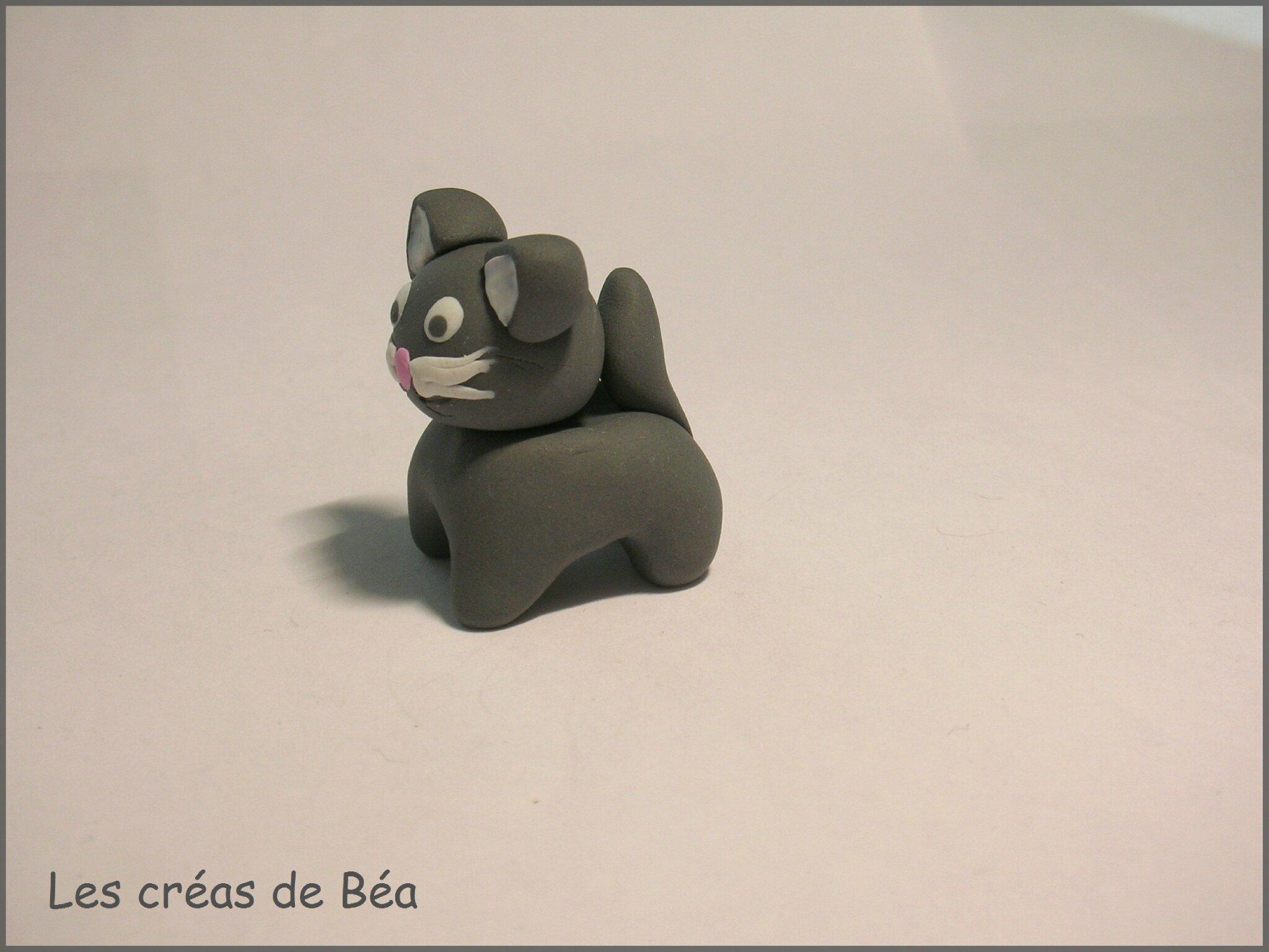 Bien-aimé Modelage chat en Fimo - Les créas de Béa TG39