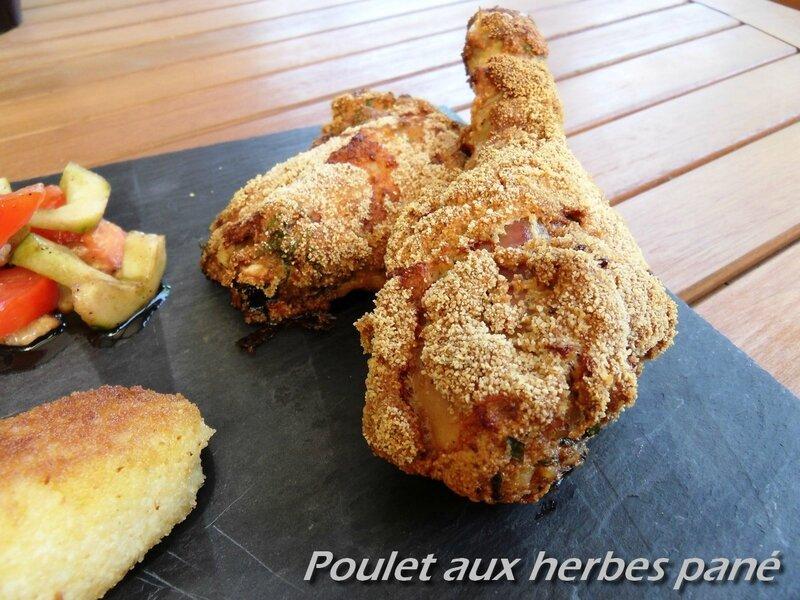 poulet aux herbes pané1