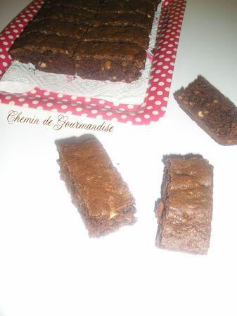 Brownie cacahoutes & café (4)