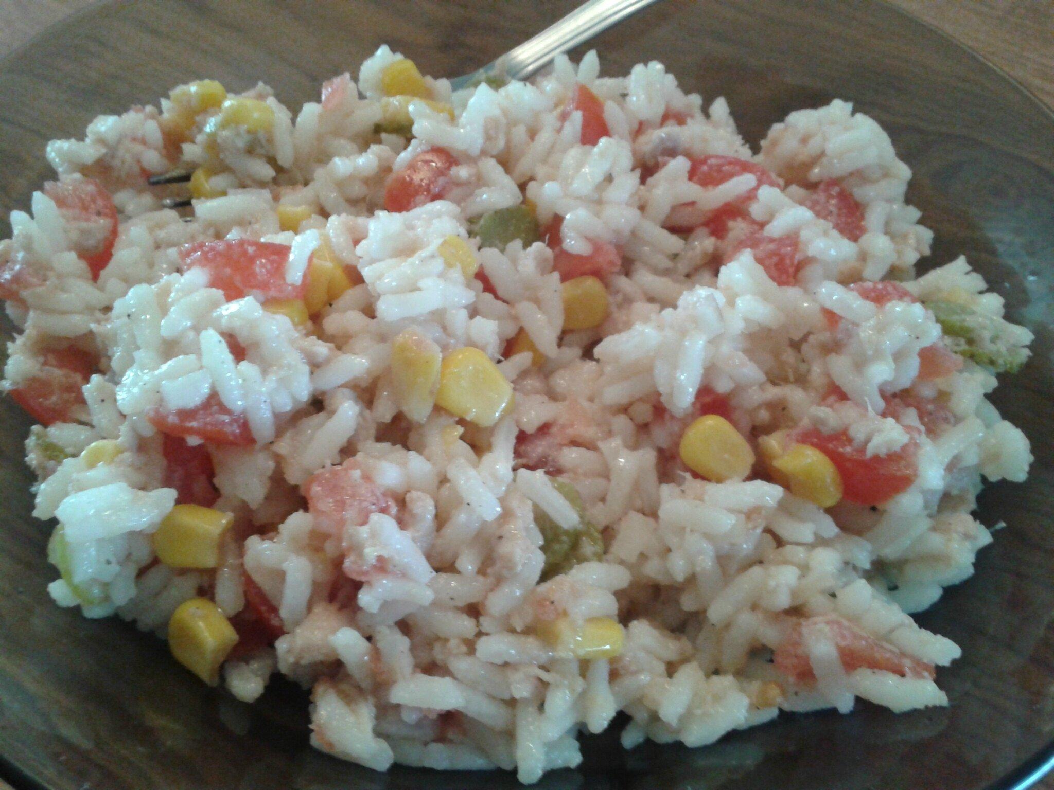 Salade de riz au maïs