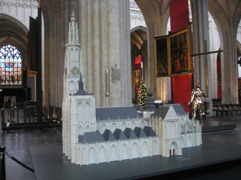 cathédrale d'Anvers, maquette
