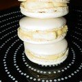 Macarons au citron bergamote