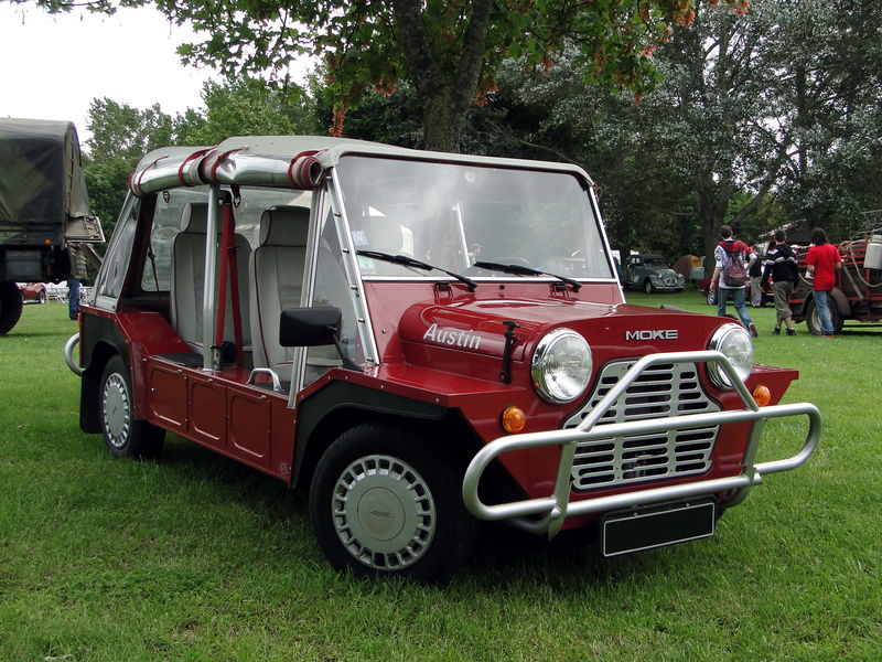 austin mini moke 1979 oldiesfan67 mon blog auto. Black Bedroom Furniture Sets. Home Design Ideas