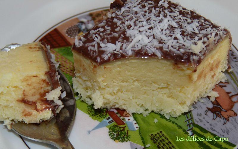 Irrésistible gâteau à la noix de coco