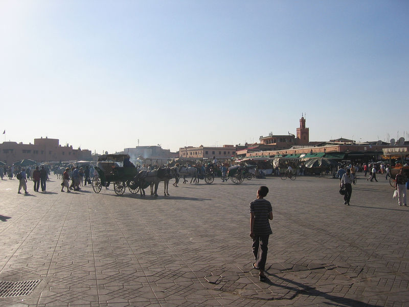 Place alfna Marrakesh 2007
