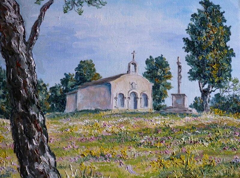 5F chapelle st Anne de Vedène Atelier A Rivière