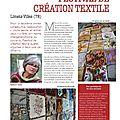 Le festival de création textile dans magic-patch