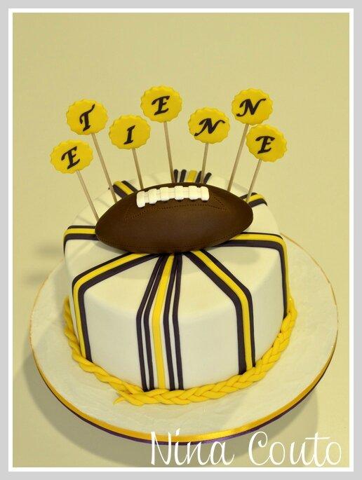 cake minnesota vikings 1