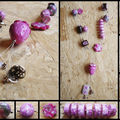 Fimo necklaces and rings