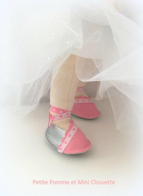 chaussures poupée princesse