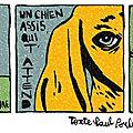 Poésie / texte: paul poule / dessin: vincent lefebvre