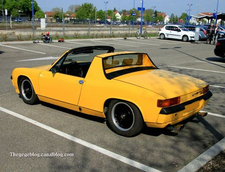 Porsche Vw 914 coup 2