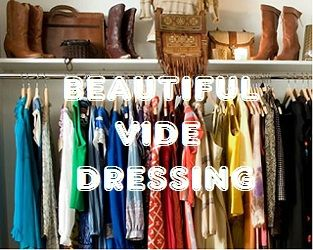 beautiful vide dressing, vintage, création blog,