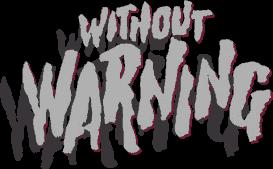 Warning Terreur Extra-Terrestre affiche