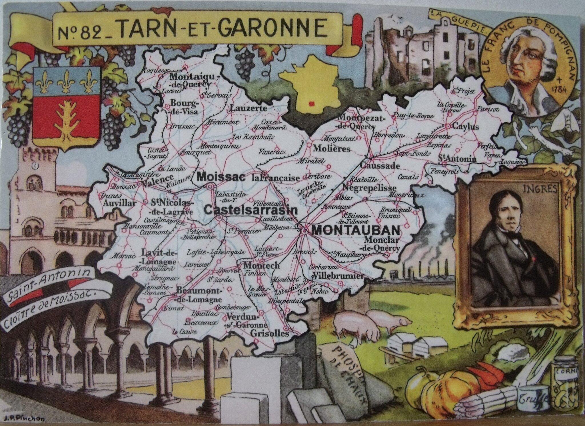 0 Tarn et Garonne datée 2019