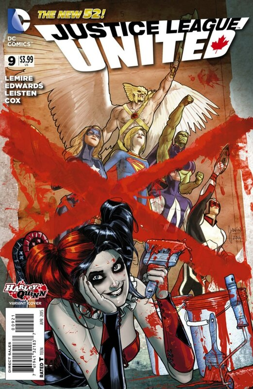 justice league united 9 harley variant