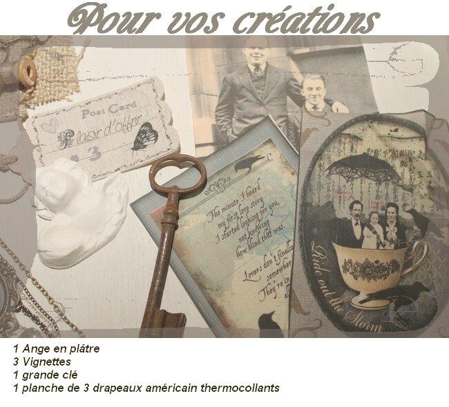 POUR VOS CREATIONS