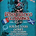 Aubigny sur nère 2014 - fêtes franco-ecossaises