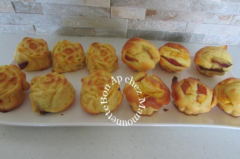 Petits gâteaux mascarponés aux brugnons 004-