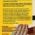 On henri encore ! théâtre clavel 2017 / billetreduc.com