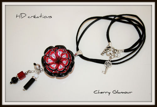 Collier Cherry Glamour