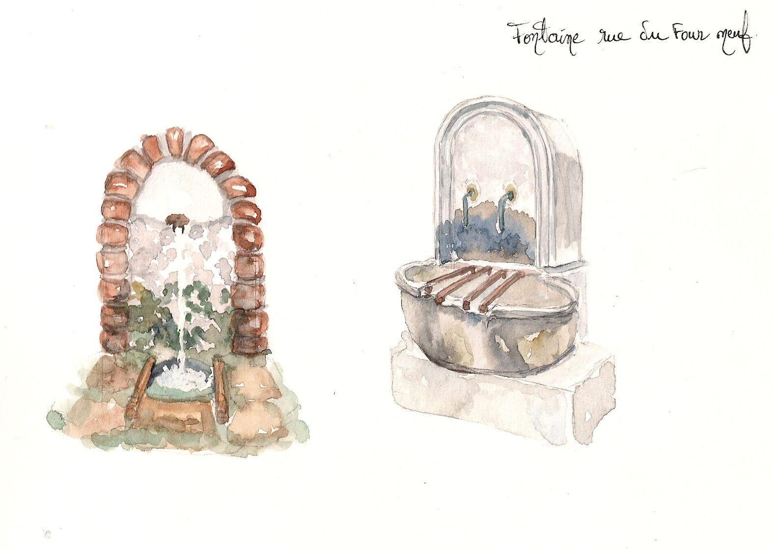 Auriol : Fontaines