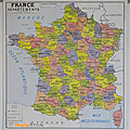 Collection ... carte france departements / population