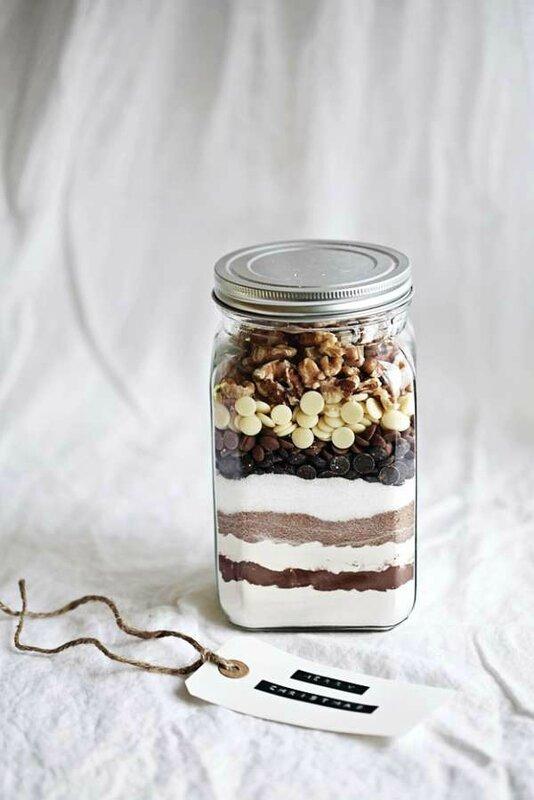 8-12 Préparation pour Brownies