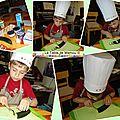 Cake crabe, crevettes et courgette