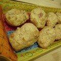 Madeleines jambon-gruyère