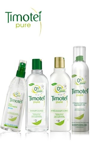 Gamme Timotei pure