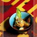 Ragout de noix de st jacques aux légumes provençaux...