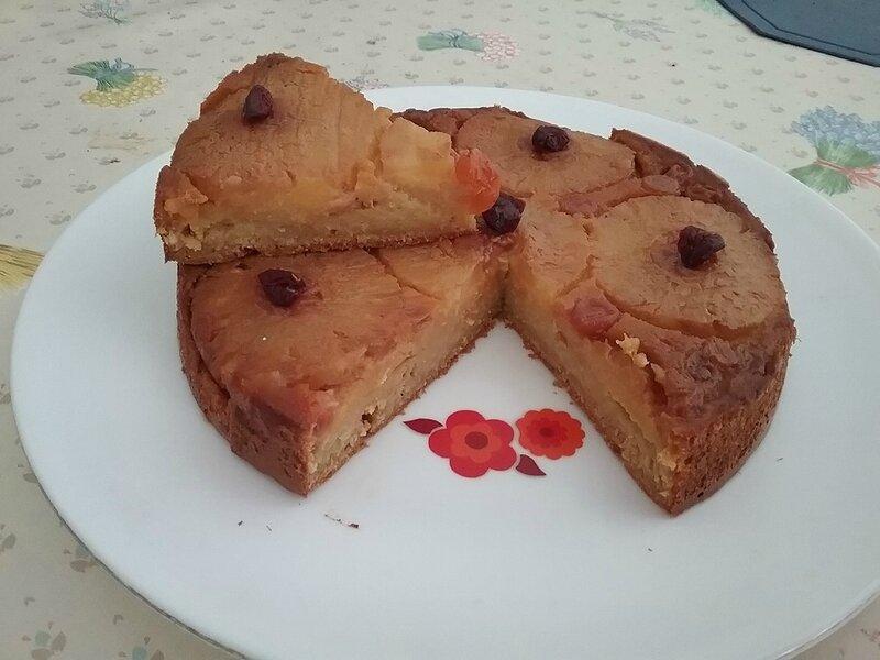 Gâteau au maïs à l'ananas des Caraïbes (1)