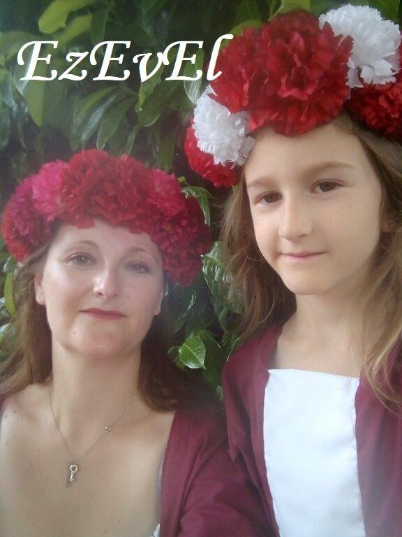 DIY couronne fleurs 14 - EzEvEl
