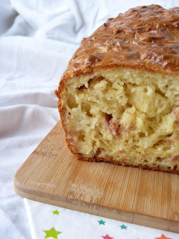 Cake au camembertt et jambon blanc