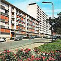 Sarcelles, le Boulevard Jacques Copeau