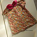 Baby box fleurie..