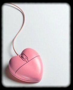 souris coeur