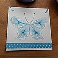 Echanges cartes thème, le bleu