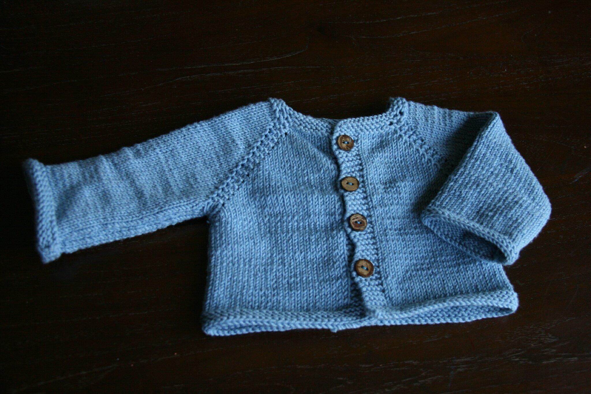 Petit gilet au tricot