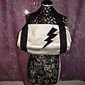 sac cuir lightning