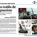 Les outils de la passion : hommage au peintre navigateur yvon le corre