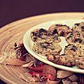 Cookies chocolat - noisette