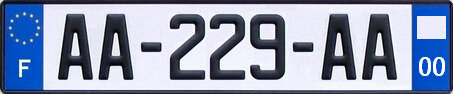 AA-229-AA_ref_License_plate_of_France