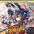 Test : the legend of heroes : trails of cold steel iii