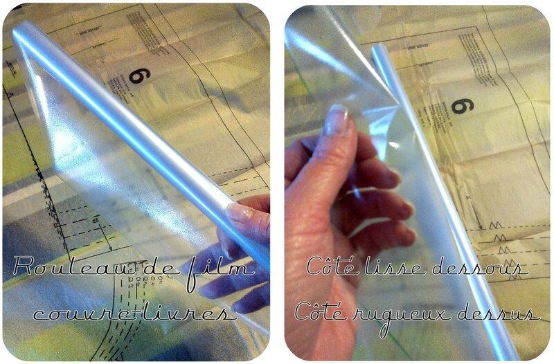 Rouleau transparent
