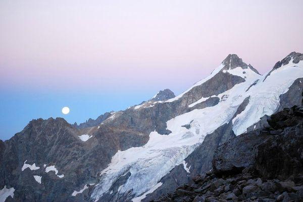Les Ecrins 2013 - Glacier supérieur des agneaux (5)